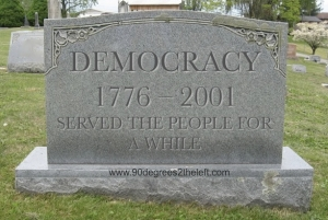 democrary-dead