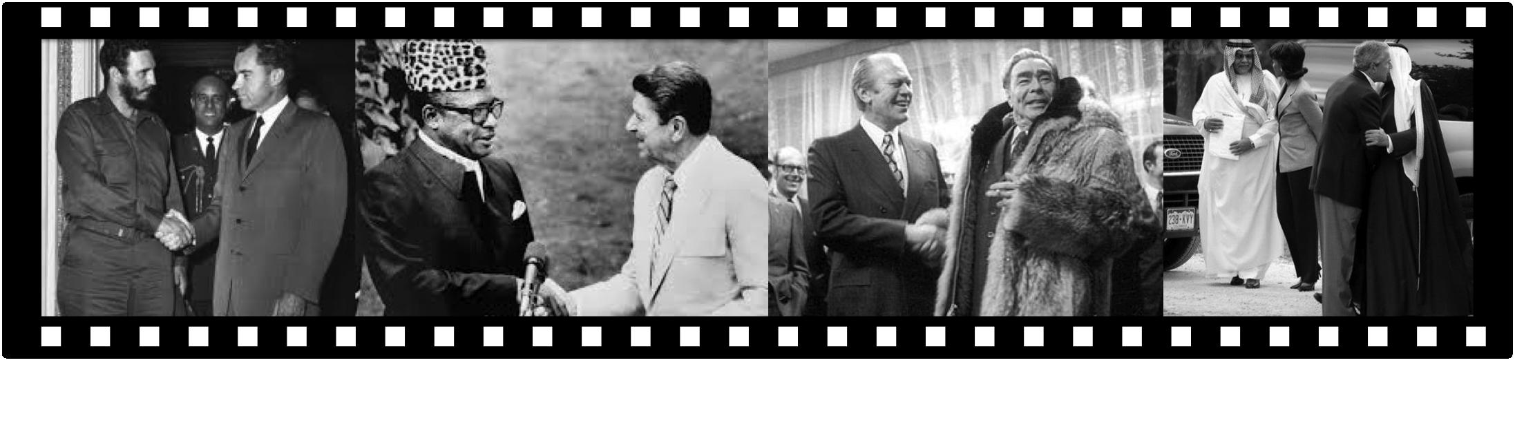 famous handshakes